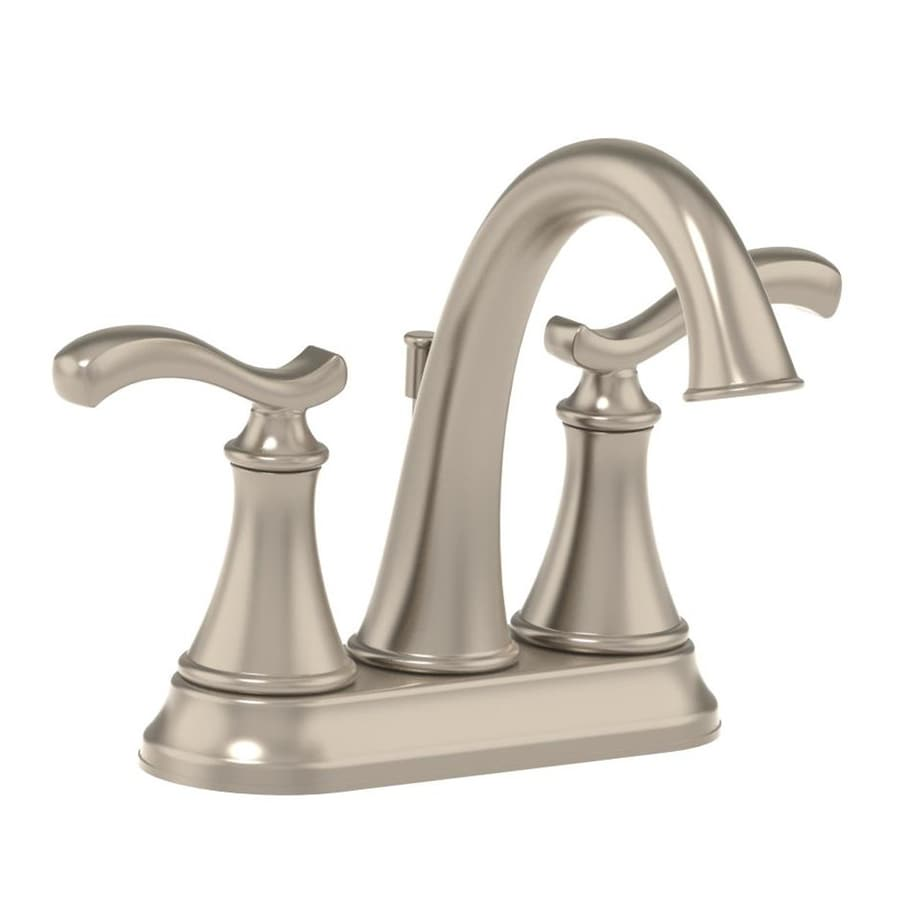 Shop Symmons Sophia Satin Nickel 2 Handle 4 In Centerset Commercial Bathroom Faucet At