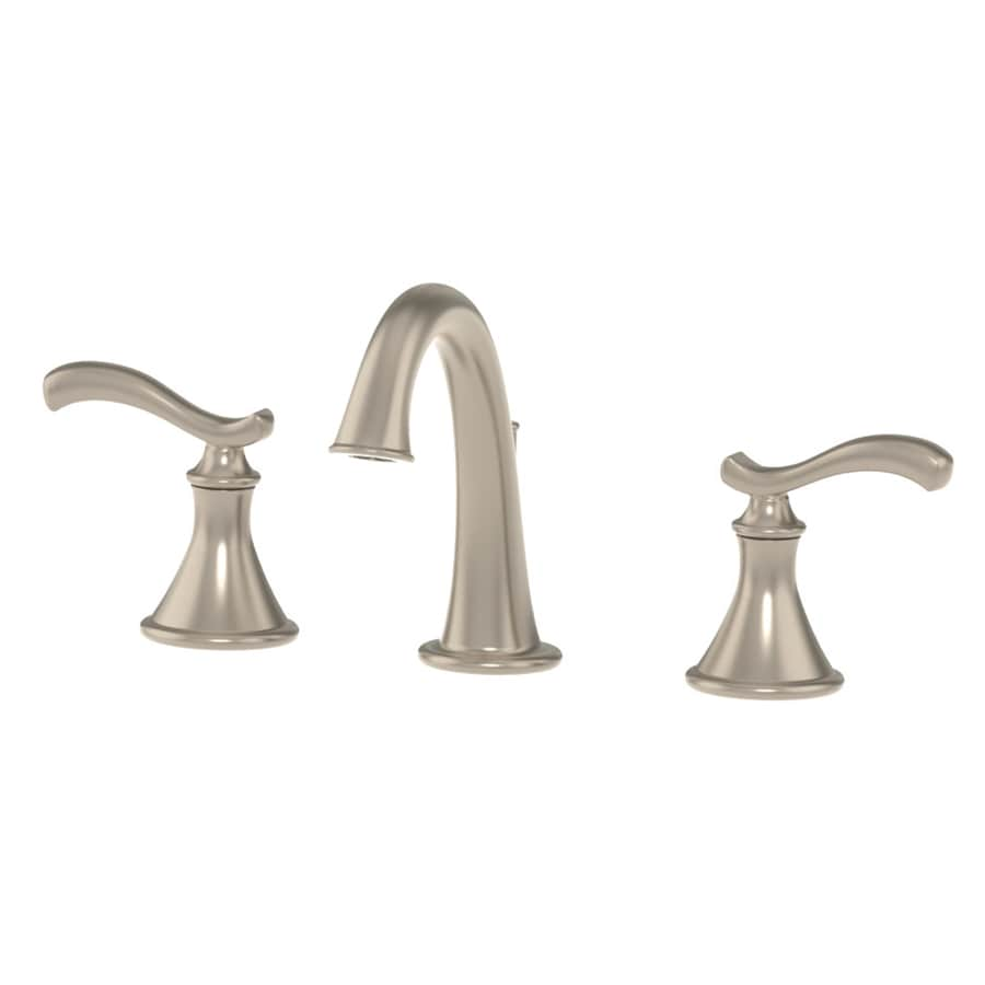Shop Symmons Sophia Satin Nickel 2 Handle Widespread Commercial Bathroom Faucet At
