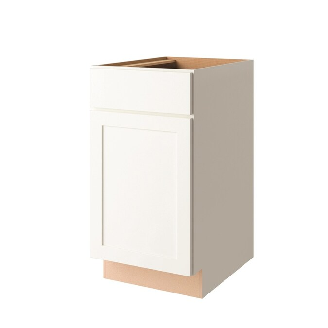 Project Source 18-in x 35-in Shaker Base Cabinet in the ...