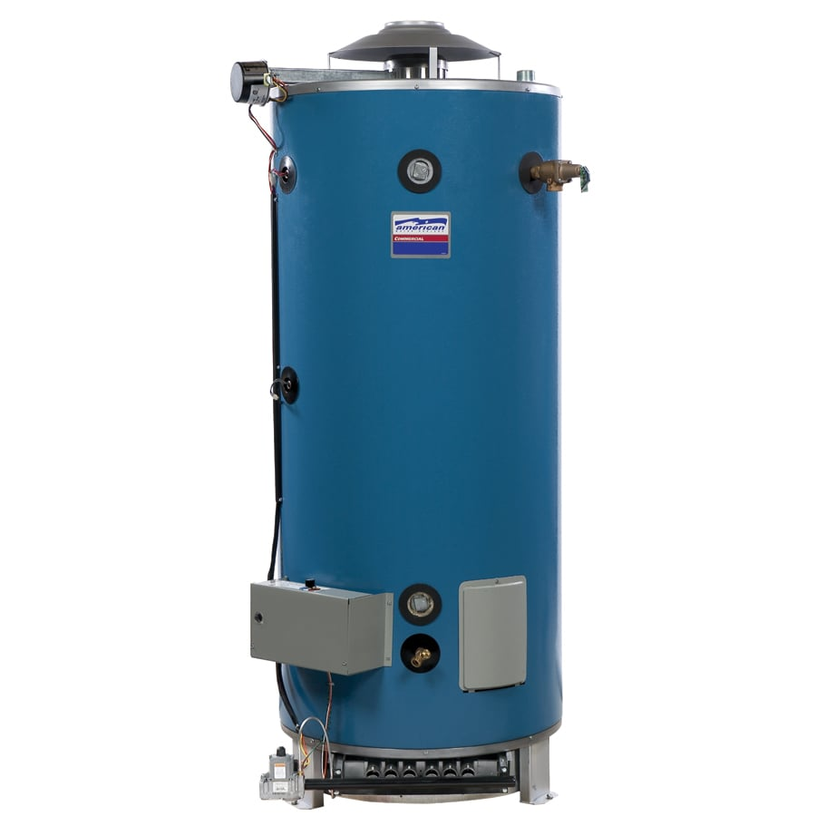 Shop american water heater company 100 gallon 3 year tank Natural gas water heater
