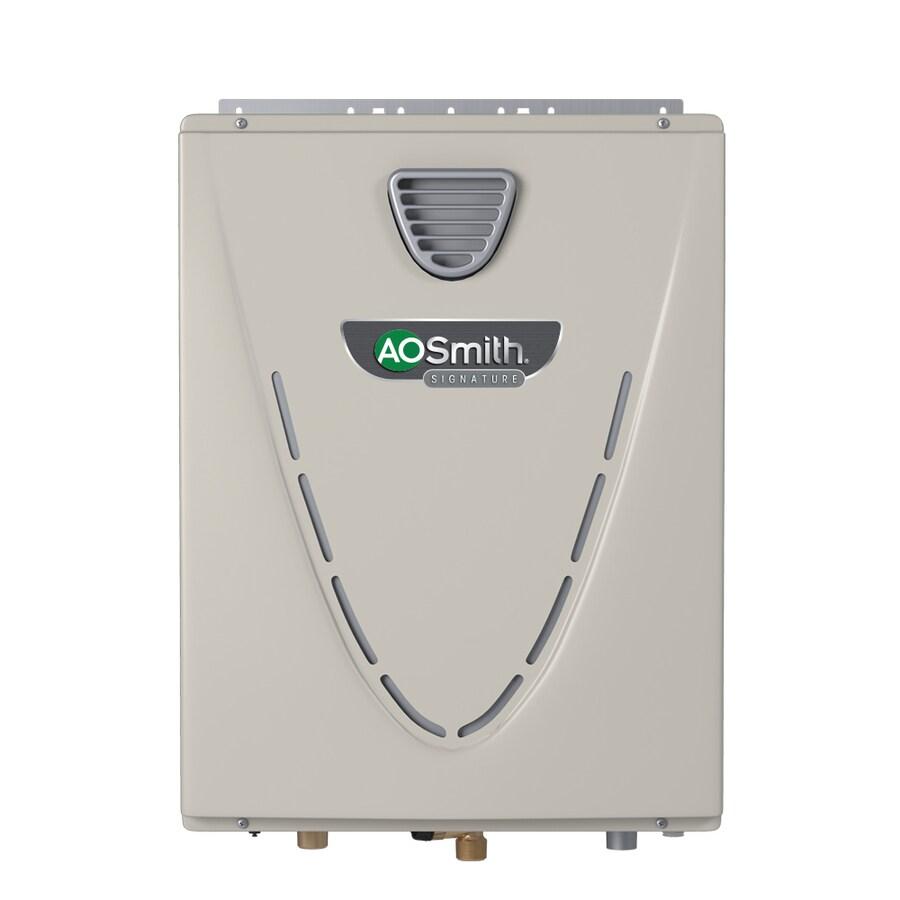 A O Smith Signature Premier 6 6 Gpm 160000 Btu Outdoor