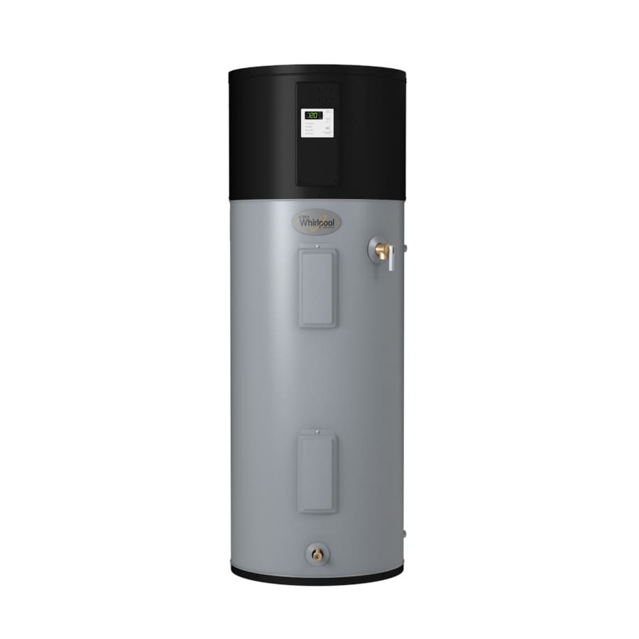 Whirlpool 50-Gallon 10-Year Limited Tall Electric Water Heater with Hybrid Heat Pump