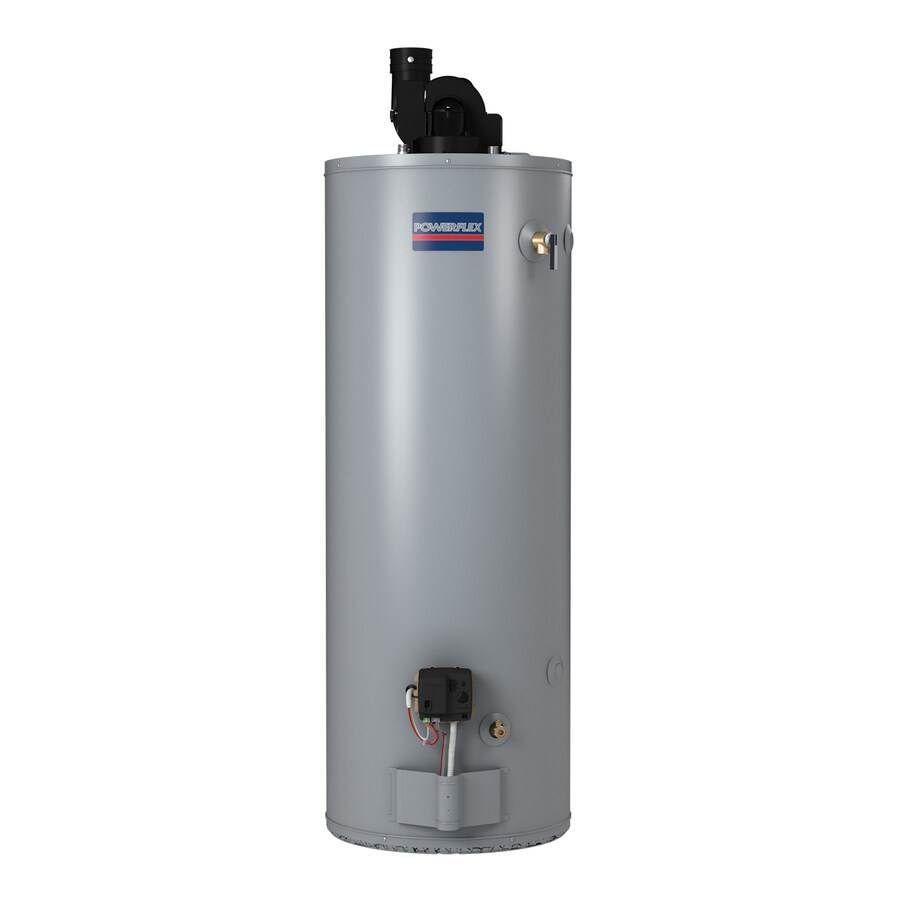 POWERFLEX DIRECT 50-Gallon 6-Year Tall Liquid Propane Water Heater