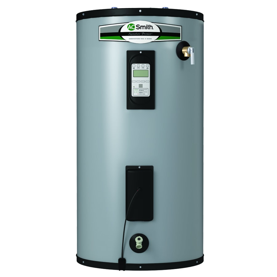 Electric Water Heater Double Element Not Lossing Wiring Diagram Troubleshooting A O Smith Signature Premier 50 Gallon Short 12 Year Limited 5500 Rh Lowes Com Hot Ge