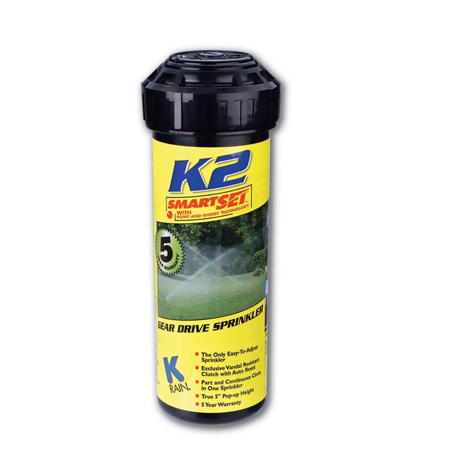 K-Rain 5-in Plastic Gear Drive Sprinkler