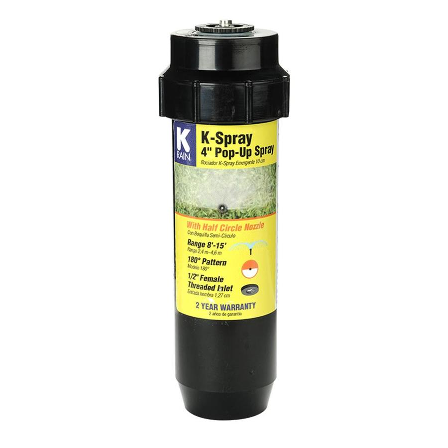 K-Rain 4-in Plastic Pop-Up Spray Head Sprinkler