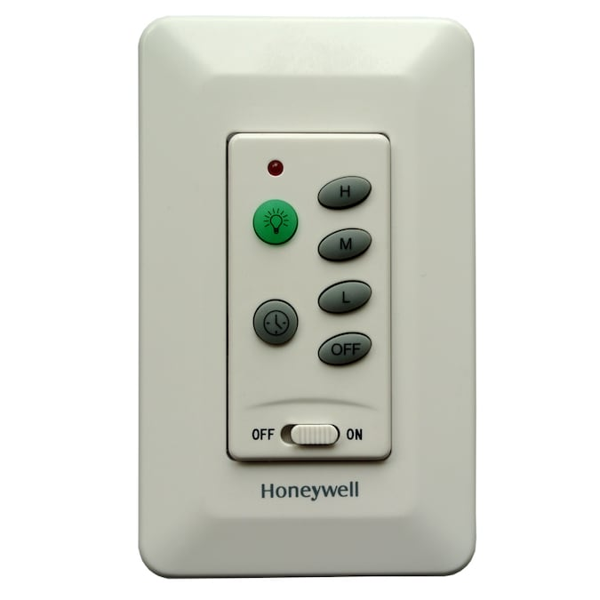 Honeywell Wall Mount Ceiling Fan Remote In The Ceiling Fan Remote Controls Department At Lowes Com