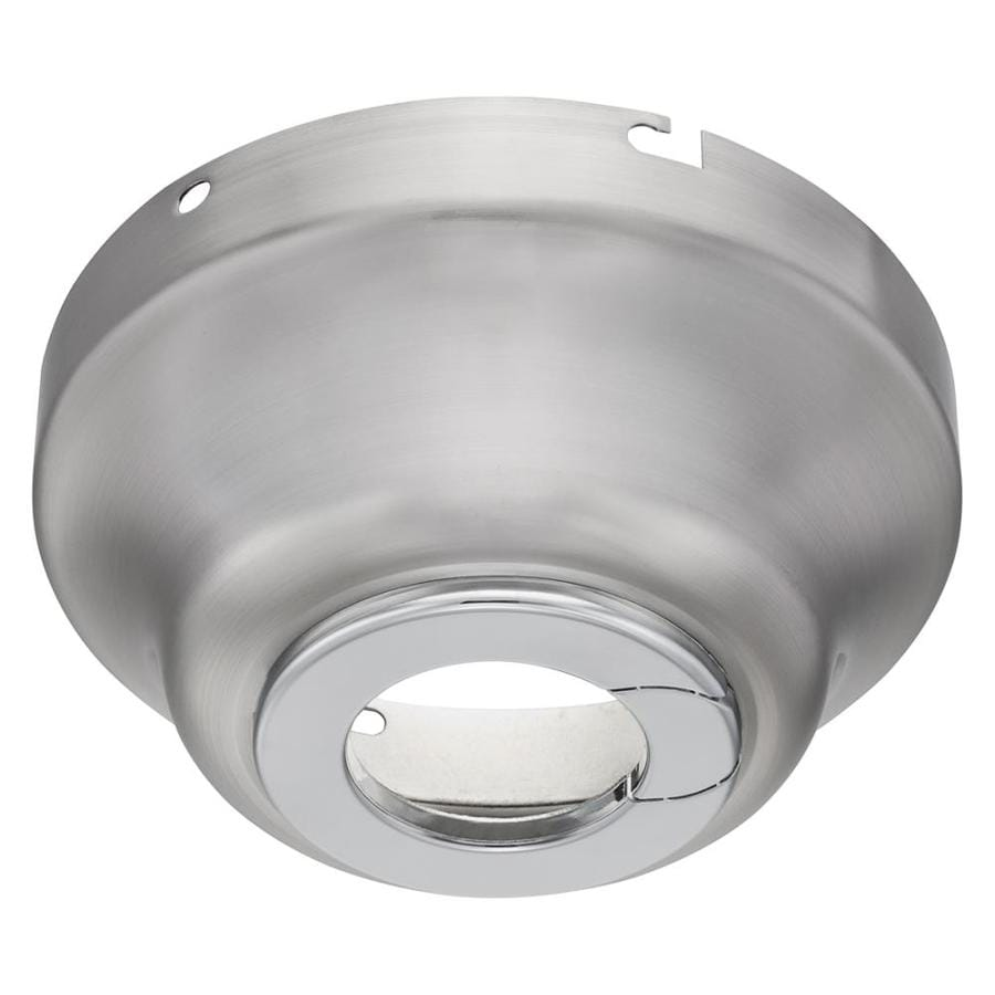 Harbor Breeze Brushed Nickel Metal Angle Mount Capable
