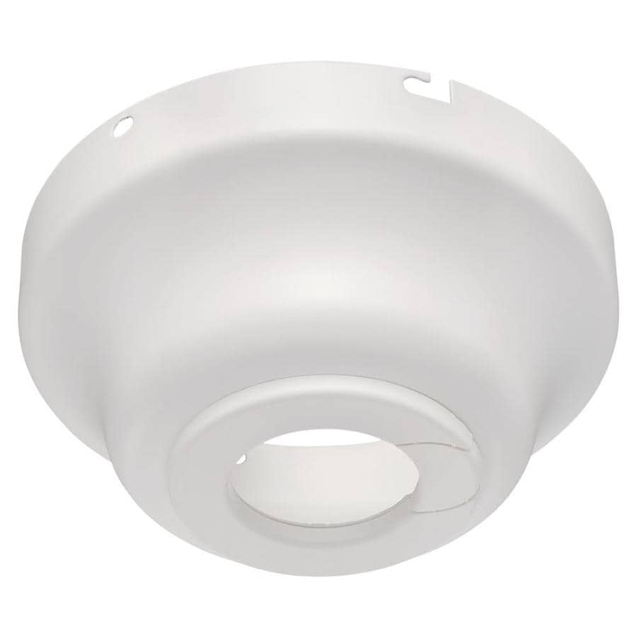 Harbor Breeze White Metal Angle Mount Capable Ceiling Fan Mounting Hardware