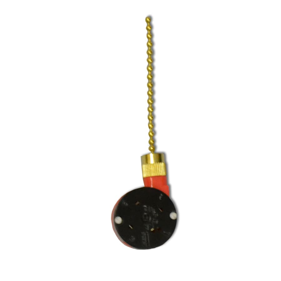 671961403720 shop harbor breeze 1 85 in black plastic pull chain at lowes com  at bayanpartner.co
