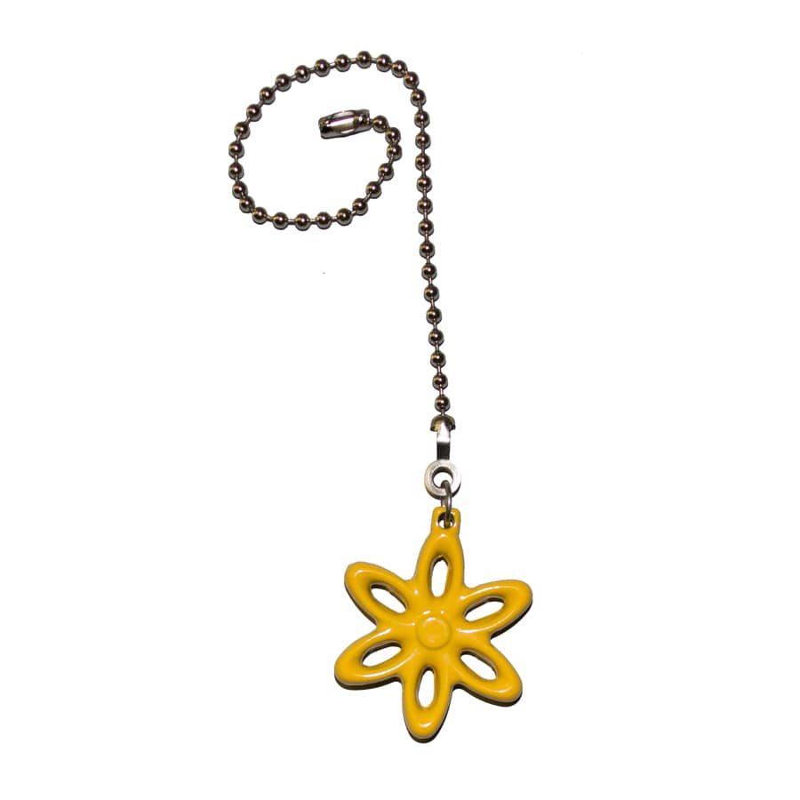 Harbor Breeze 7-in Yellow Zinc Pull Chain