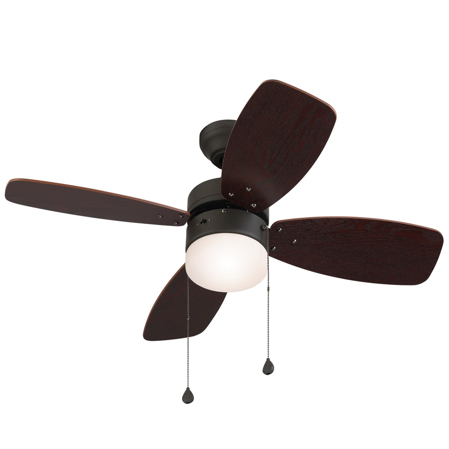 Ceiling Fan Mount : Shop harbor breeze riverview in bronze downrod or close