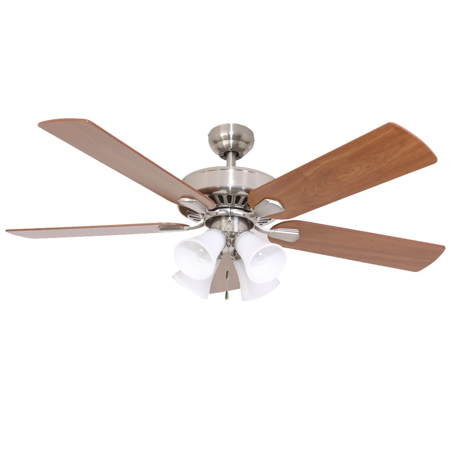 Palm Coast Bedford Plantation 52-in Bronze Downrod or Close Mount Indoor Residential Ceiling Fan with Light Kit and Remote