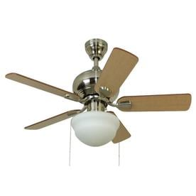 Harbor Breeze Nickel Ceiling Fans At Lowes Com