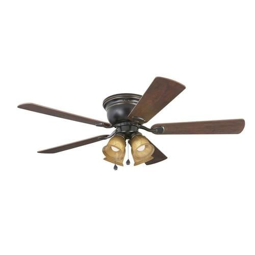 Harbor Breeze Centreville 52 In Oil Rubbed Bronze Led