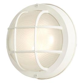white outdoor wall lights pir portfolio wall lantern 8in white led outdoor light lights at lowescom