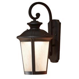 Wonderful Allen + Roth Dashwood 18.5 In H Black LED Outdoor Wall Light