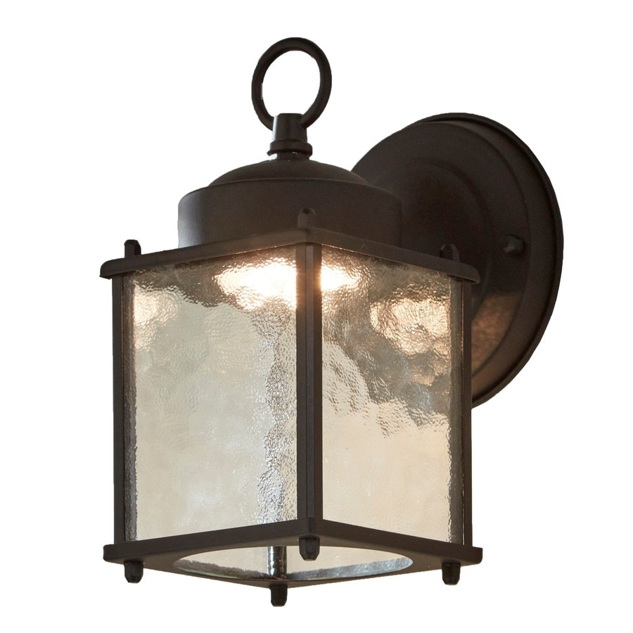 portfolio wall lantern h black led outdoor wall light at. Black Bedroom Furniture Sets. Home Design Ideas