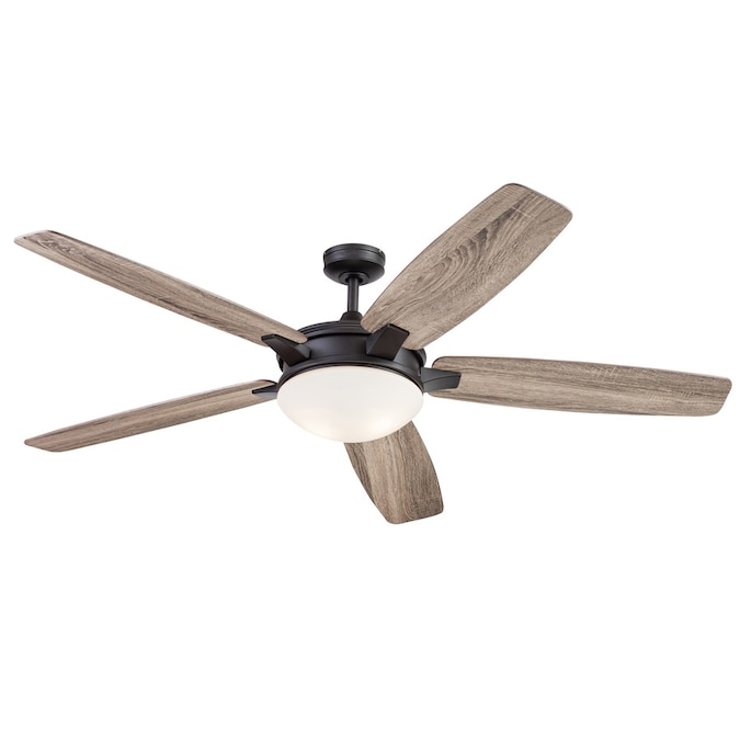 Harbor Breeze Oakham 70 In Bronze Ceiling Fan With Remote 5 Blade In The Ceiling Fans Department At Lowes Com