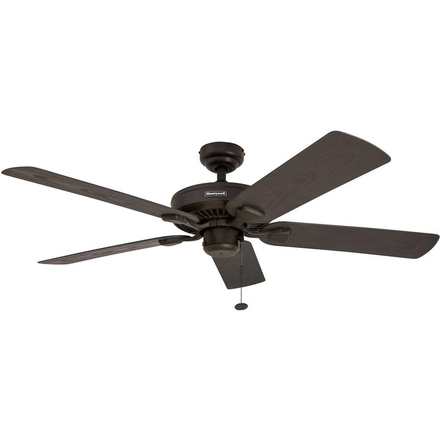 Honeywell Belmar 52 In Bronze Indoor Outdoor Downrod