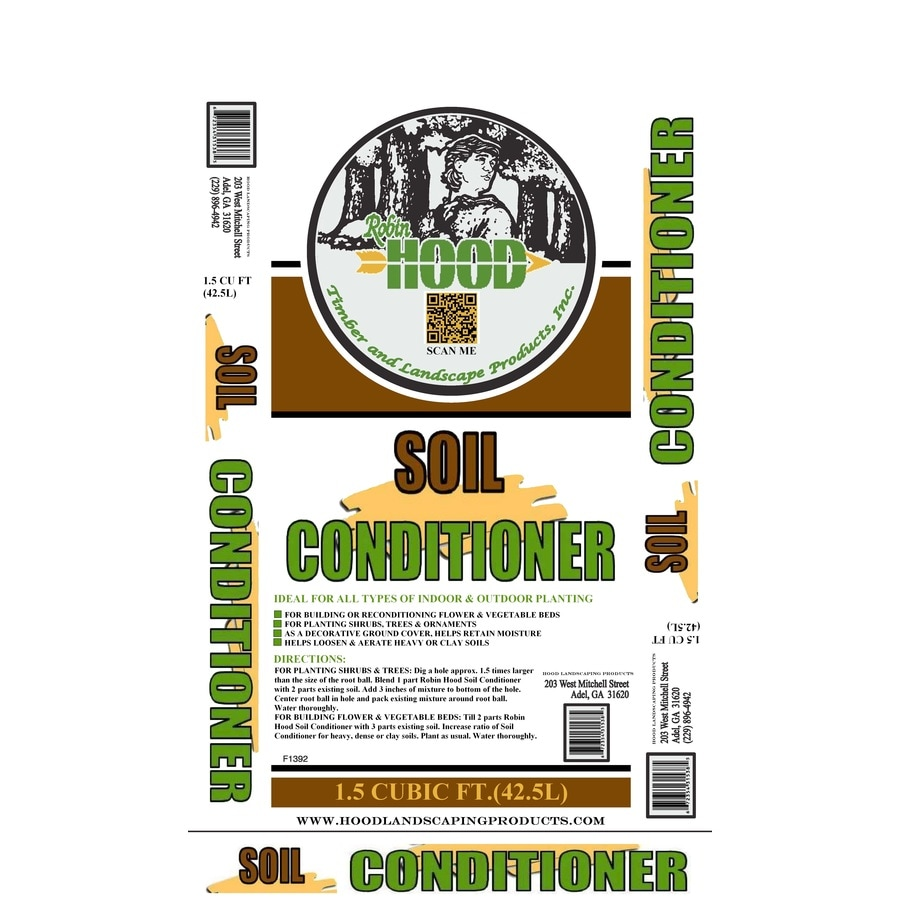 Robin Hood Soil Conditioner 1.5-cu ft Composted Planting Mix