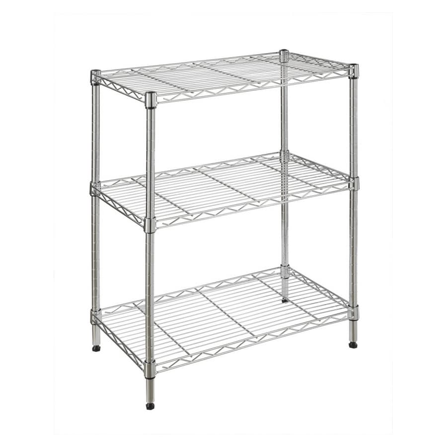 "Real Organized 30""H x  24""W x  14""D Steel Freestanding Shelving Unit"