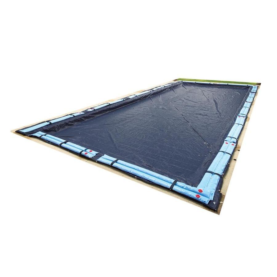 Blue Wave 29-ft x 17-ft Bronze Polyethylene Winter Pool Cover