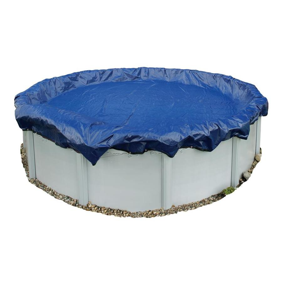 Blue Wave 25-ft x 25-ft Gold Polyethylene Winter Pool Cover