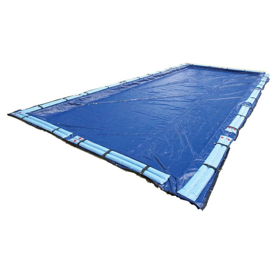 Blue Wave 33-ft x 19-ft Gold Polyethylene Winter Pool Cover