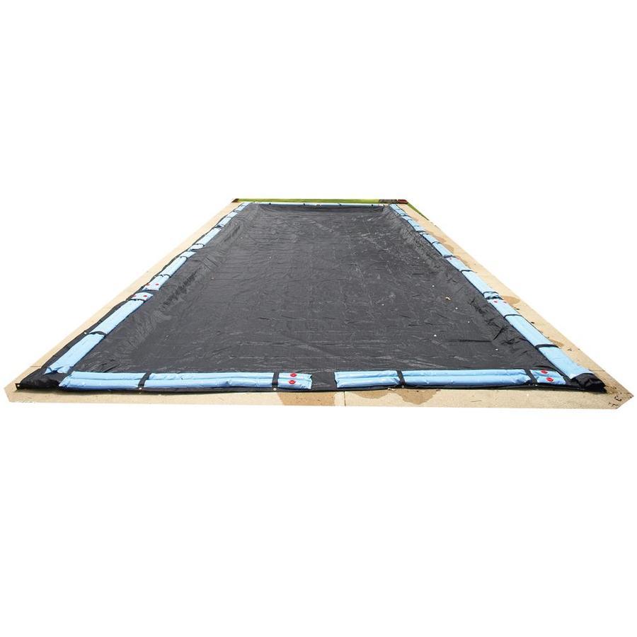 Blue Wave 65-ft x 35-ft Rugged Mesh Polyethylene Winter Pool Cover