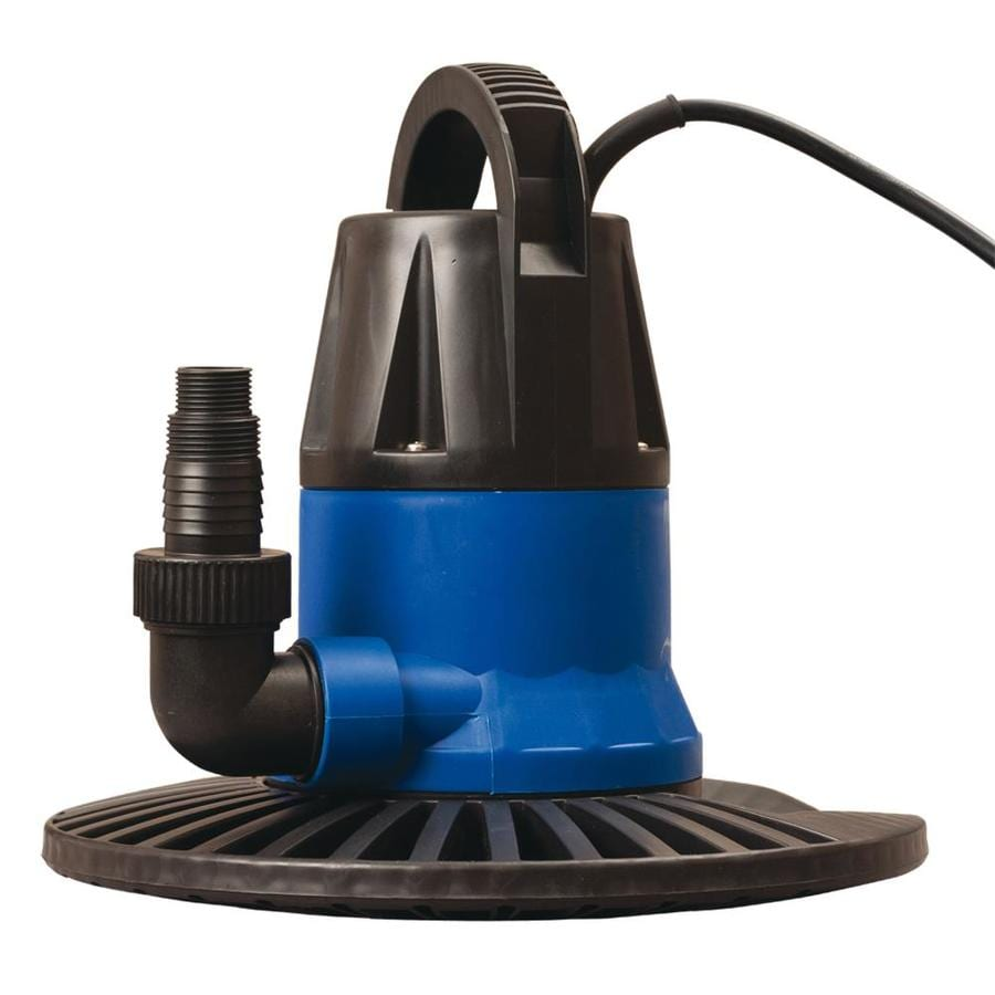 Blue Wave Dredger 1,250-Gallon Clog Resistant Plug-In Pool Cover Pump