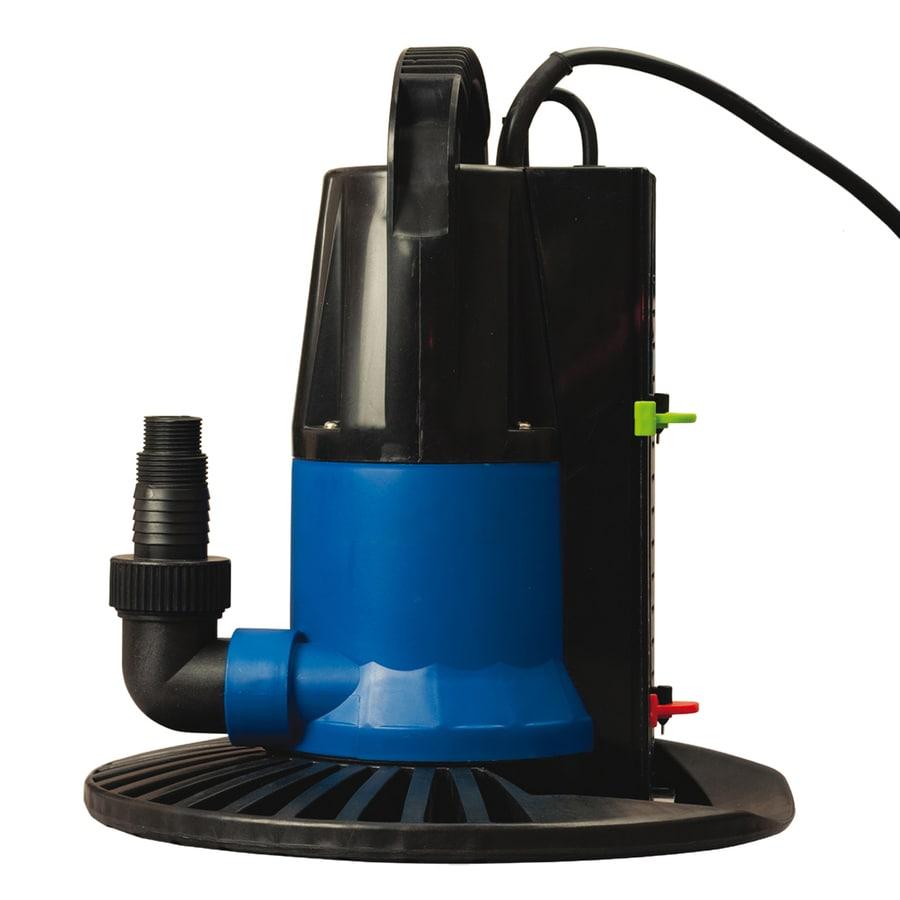 Blue Wave Dredger 1,250-Gallon Clog Resistant Plug-In Pool Cover Pump