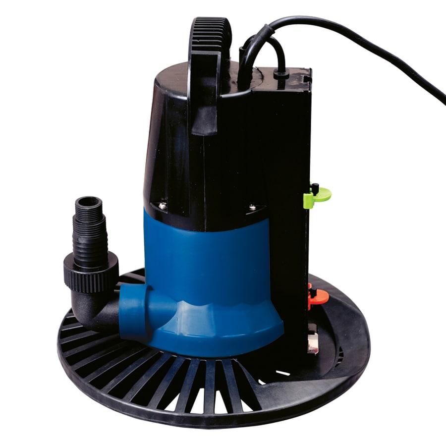Blue Wave Super Dredger 2,450-Gallon Clog Resistant Plug-In Pool Cover Pump