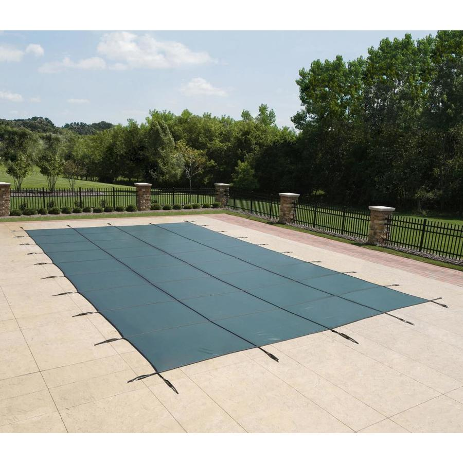 Blue Wave 20-ft x 38-ft Polypropylene Safety Pool Cover