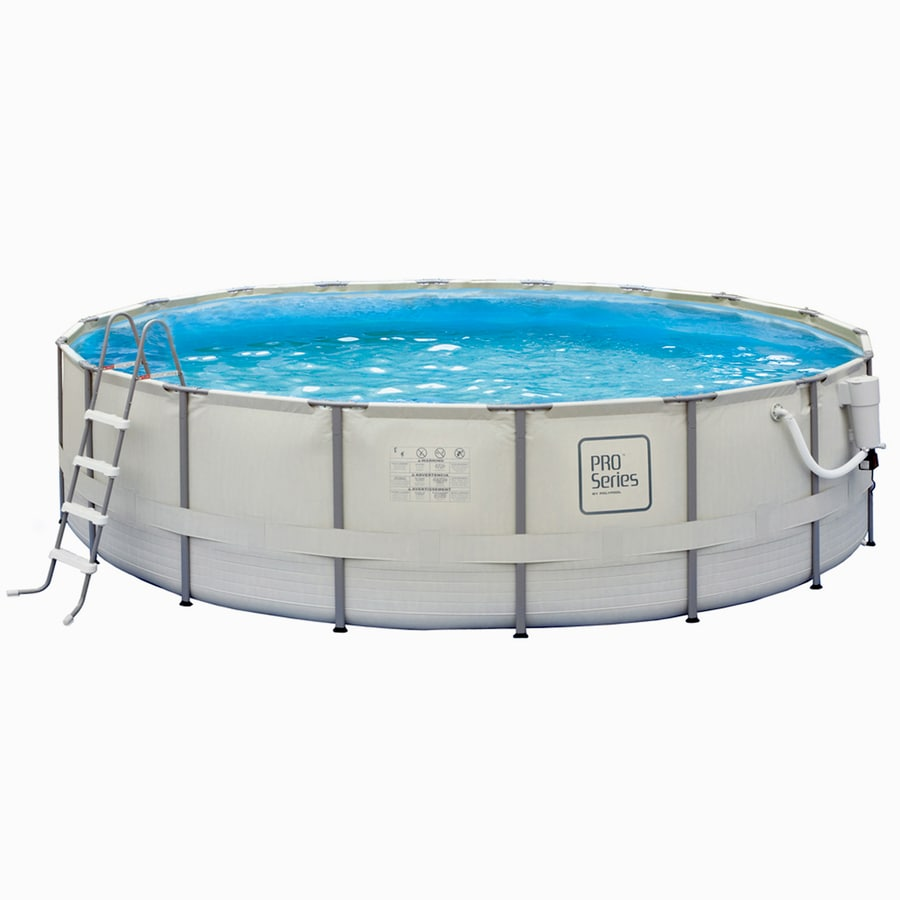 Shop Pro Series 15 Ft X 15 Ft X 48 In Round Above Ground Pool At