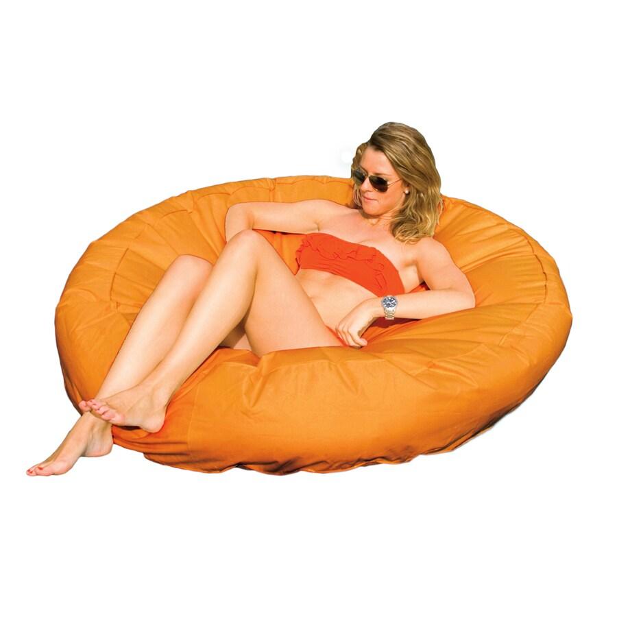 Swimline Sunsoft Circular Orange Inflatable Raft