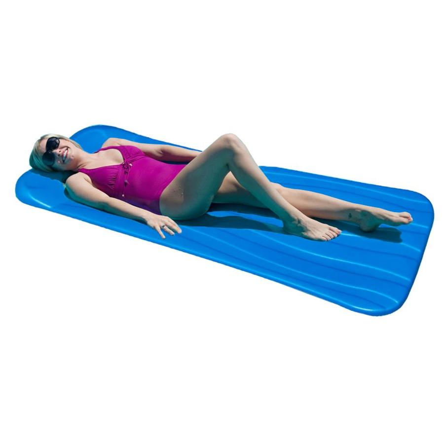 Aqua Cell Cool Pool Blue Foam Raft