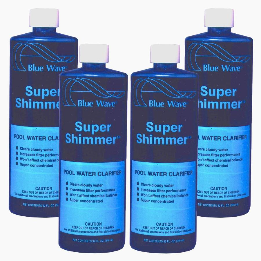 Blue Wave Super Shimmer 128-oz Pool Water Clarifier
