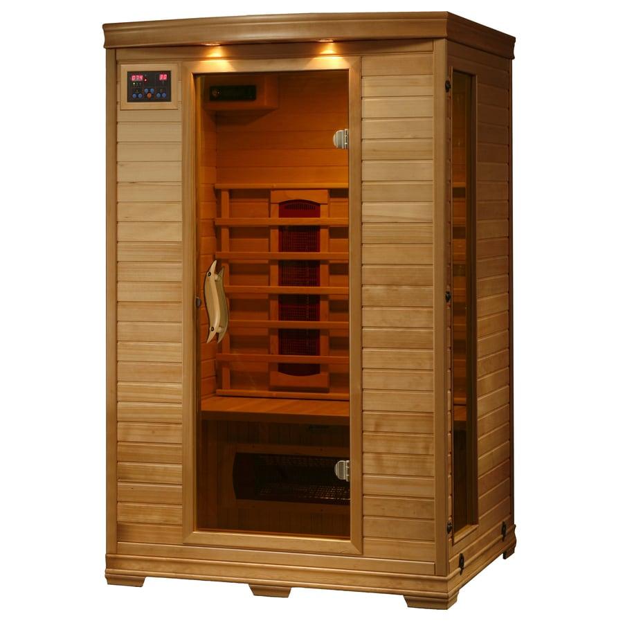 Radiant 75-in H x 39.25-in W x 47.25-in D Hemlock Fir Wood Sauna