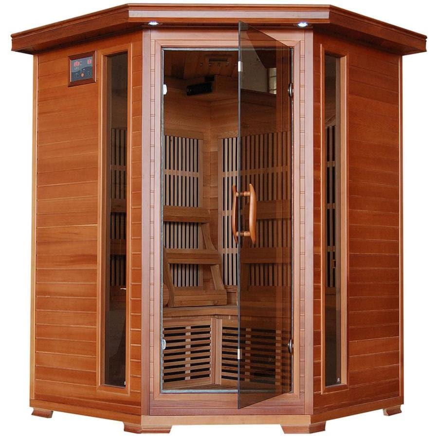 Radiant 75-in H x 53-in W x 53-in D Western Cedar Sauna