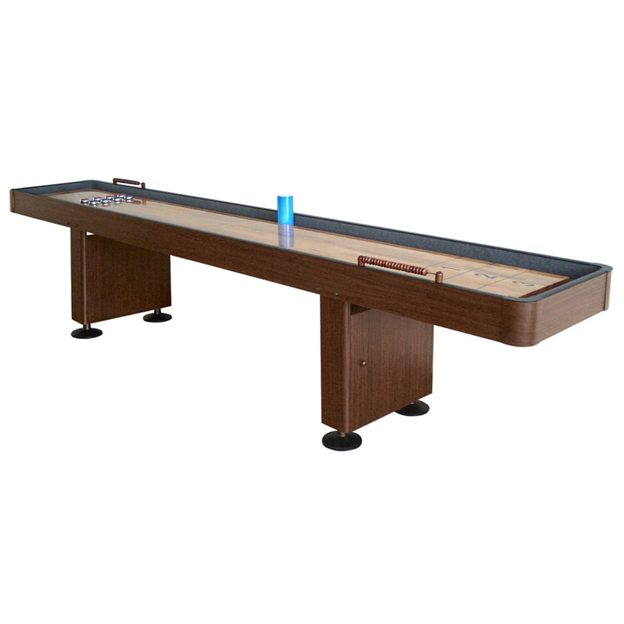 Hathaway Challenger 9-ft Manual Freestanding Shuffleboard Table