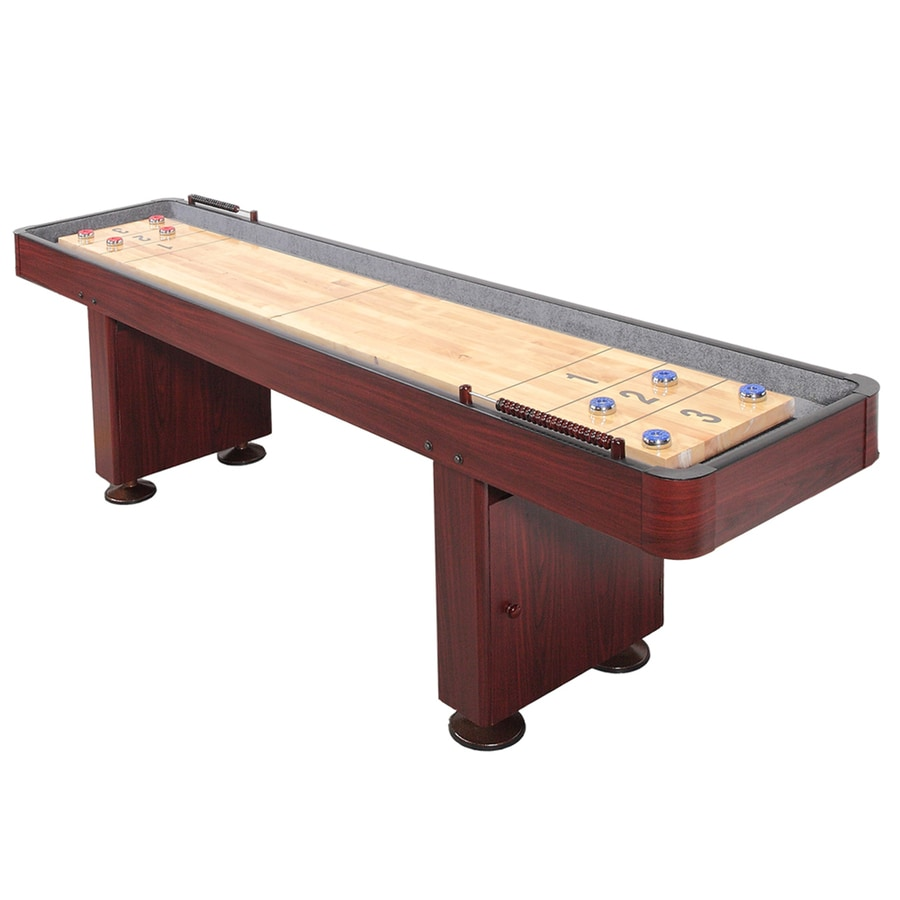 Hathaway Challenger 9-ft Manual Freestanding Shuffleboard Table