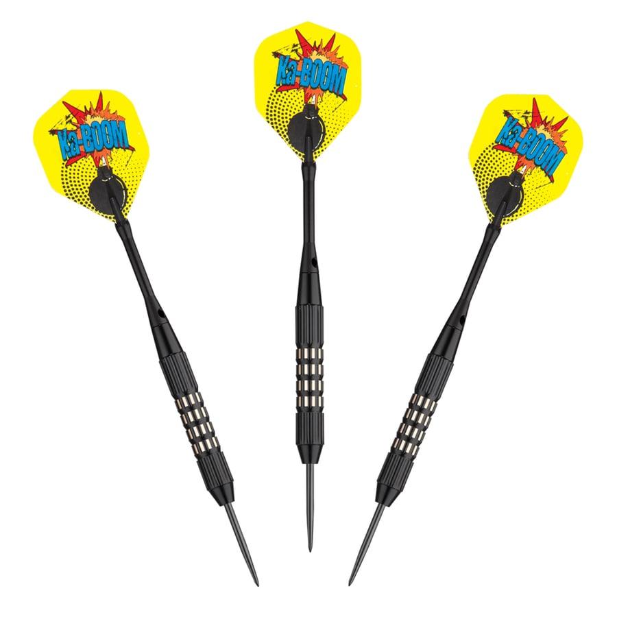 Hathaway Kaboom 3-Set Yellow Steel Tip Darts
