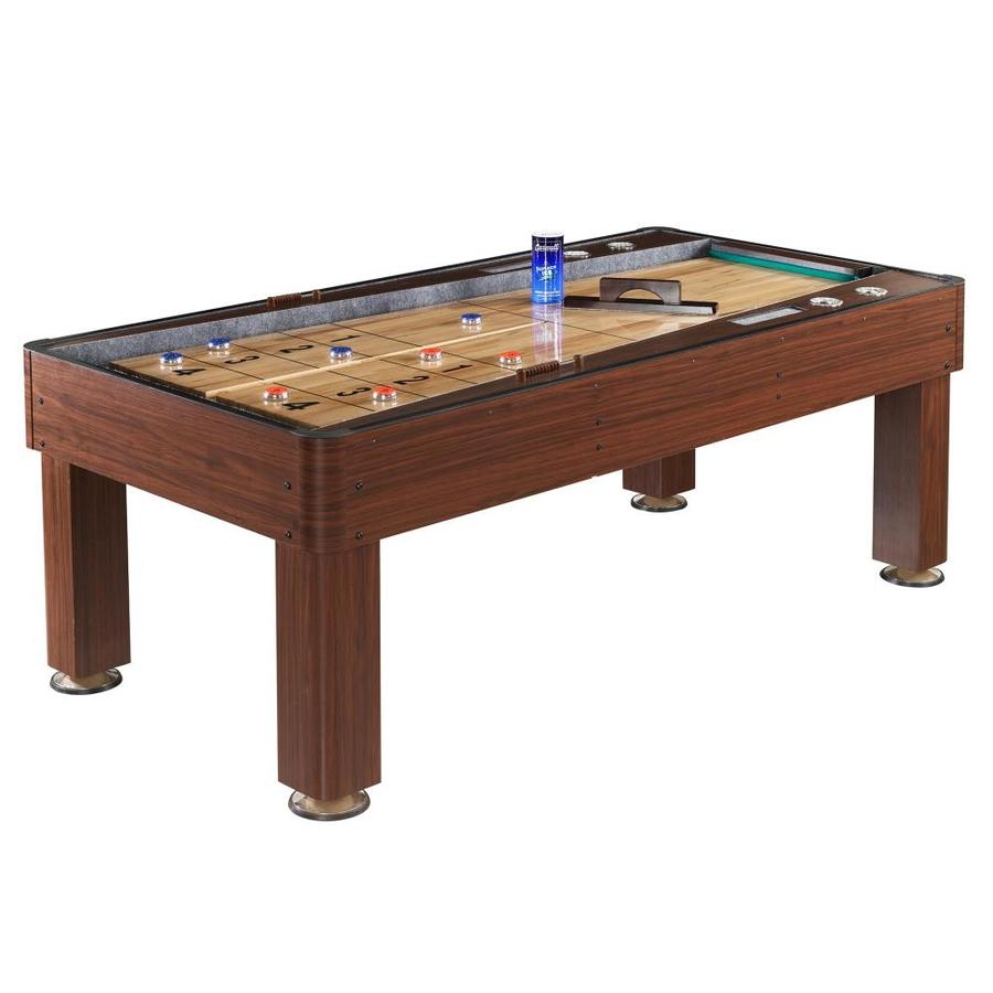 Hathaway Ricochet 84-in Manual Freestanding Shuffleboard Table