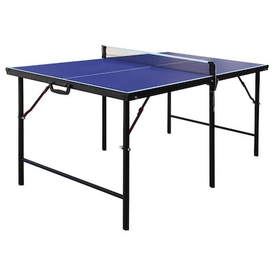 Hathaway Crossover 60 In Indoor Freestanding Ping Pong Table
