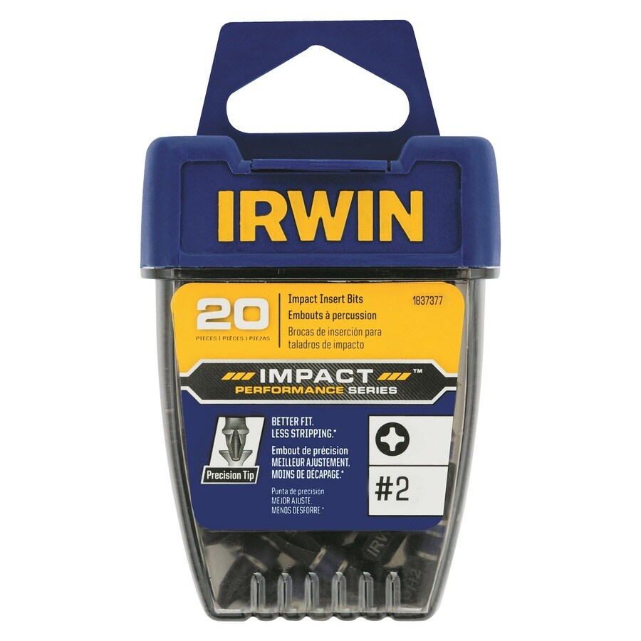 IRWIN 1/4-in x 1-in Phillips Impact Driver Bit