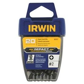 IRWIN 20-Piece 1/4-in x 1-in Phillips Impact Driver Bit