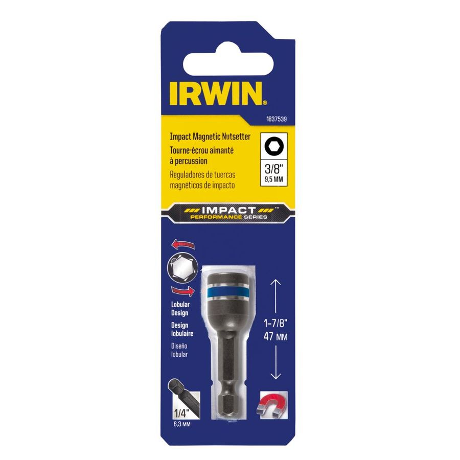 IRWIN 3/8-in x 1-7/8-in SAE Hex Nut Driver