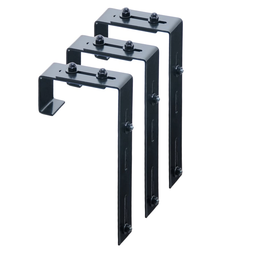 Mayne 3-Pack 5.75-in Steel Window Box Brackets