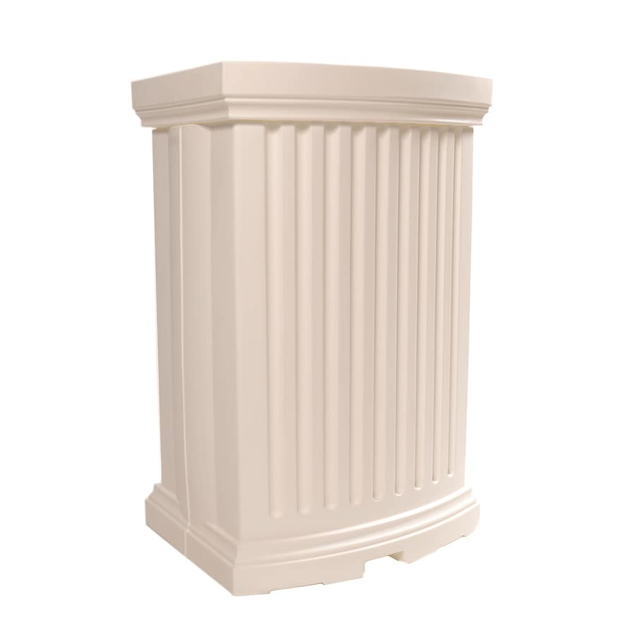Mayne 40 Gallon White Plastic Rain Barrel At Lowescom